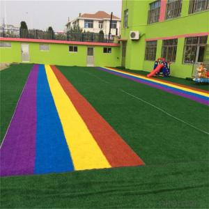 PP+PE  Artifical Grass For Decoration SGS/ISO14001