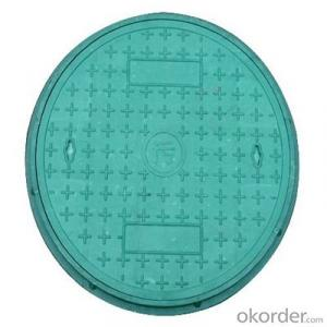 Ductile Iron Square and Round Manhole Cover and Frame with EN124