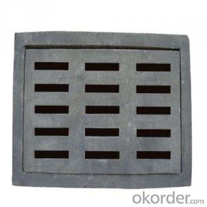 Ductile Iron Manhole Cover and Drain Grating EN124