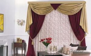 blackout living room linen made fabric curtain