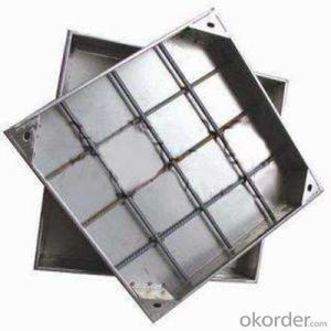 Lockable Ductile Grey Cast Iron Manhole Cover Price