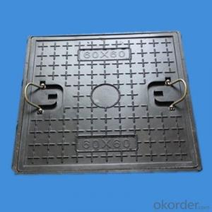 Sanitary Ductile Iron Manhole Cover without Pressure