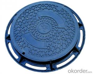 Ductile Cast Iron Manhole Cover EN124 for Industry