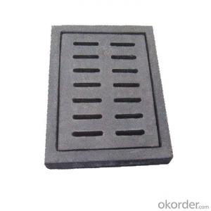 Ductile Cast Iron Mnhole Cover and Gully Grate