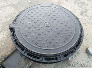 Ductile Iron Manhole Cover With OEM for Construction in China