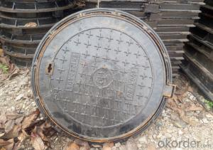 Ductile Iron Manhole Cover D400 for Construction and Mining