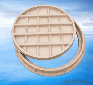 Vented Ductile Iron Hinged Manhole Cover C250