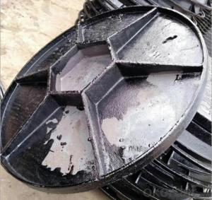 Ductile Iron Manhole Cover C250 with Competitive Price EN124 Standard in China