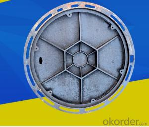 Ductile Iron Telecom Manhole Cover Sizes Cast Iron EN124