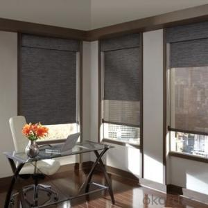 Roller Blinds Motorized Waterproof Zebra Blind for Offices and Home