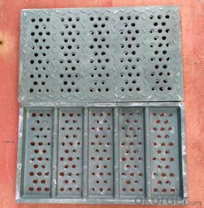 Ductile Iron Manhole Covers of Grey  with New Style in China