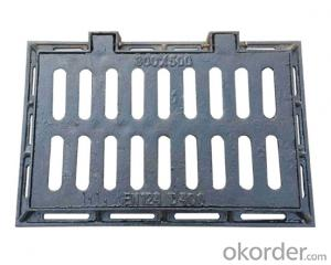 cast ductile iron manhole covers for mining and industry EN124