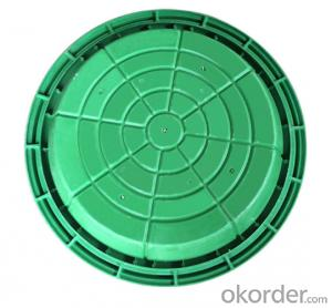 Cast iron Concrete Manhole Covers with Different Colors