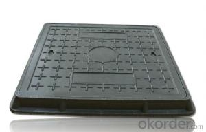 Manhole Cover with EN124 Standard for Construction