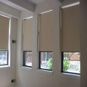 Roller Blinds Motorized Waterproof Outdoor Blinds for Offices and Home