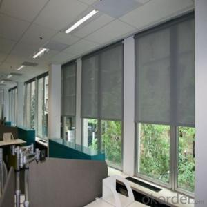 Roller Blinds Motorized Waterproof Windows Blinds for Offices and Home