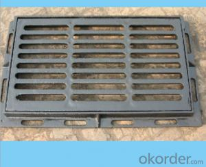 EN 124 ductile iron manhole covers with high quality for mining