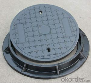 Ductile Iron Manhole Covers with EN124 Standard D400