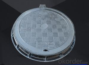 Ductile Iron Manhole Covers of Grey with High Quality for Construction and Mining