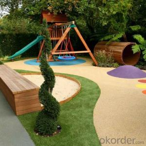 Artificial grass garden colored grass carpet for sports playground