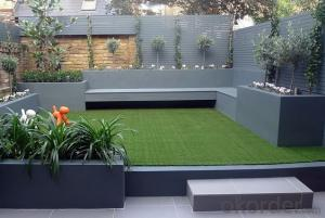 Indoor garden interlocking syntetic golf artificial lawn grass