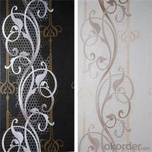 China Supplier High Quality 106cm Flower Cheap Wallpaper for Bedroom Walls