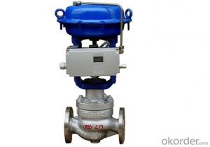 Single –seated Control Valve Made In China Best Price
