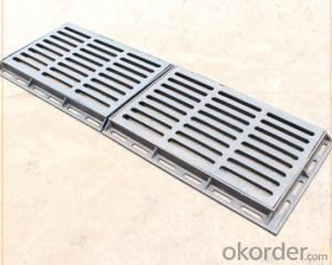 Casting ductile iron manhole covers for mining and industry OEM