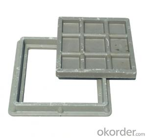 Supplying Heavy Duty Cast Iron Manhole Cover EN124 B125