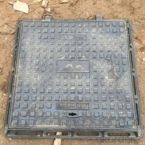 Casting Ductile Iron Manhole Covers B125 D400 with Competitive Prices