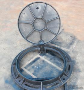 New design ductile iron manhole covers for industy and construction OEM in China