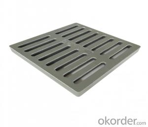 EN 124 ductile iron manhole covers with high quality and competitive price