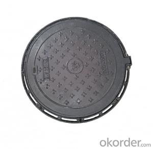 Casting Ductile Iron Manhole Covers of Grey with Competitive price for Construction and Mining