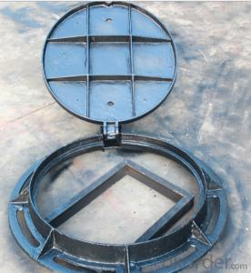 EN124 High Quality Ductile and Casting Iron Manhole Cover