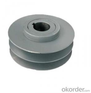 Belt pulley sheave v belt sand casting cast iron customized OEM