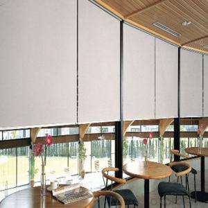 Outdoor Plastic Clear Vertical Roller Blinds