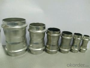 Stainless Steel Sanitary Fitting Coupling 15-54mm V Profile 304