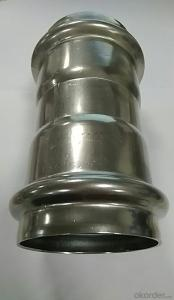 Stainless Steel Sanitary Fitting Coupling 88.9mm V Profile 304