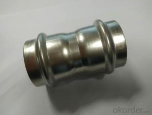Stainless Steel Sanitary Fitting Coupling 42mm V Profile 304