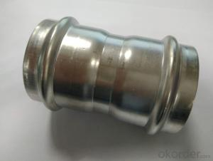 Stainless Steel Sanitary Fitting Coupling 54mm V Profile 304