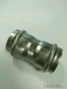 Stainless Steel Sanitary Fitting Coupling 35mm V Profile 304