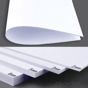 Buliding material pvc foam board/pvc foam sheet for constrction