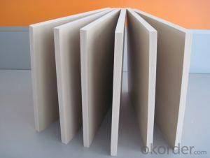 Buliding material pvc foam board/pvc foam sheet for constrction