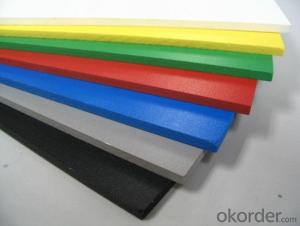 PVC foam sheets for funiture/advertising pvc foam panels