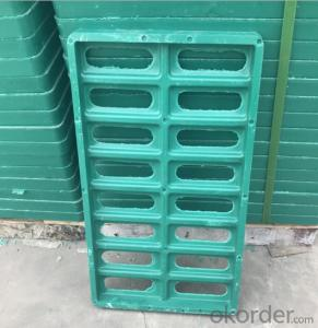 Ductile Iron Manhole Cover and Frames in China