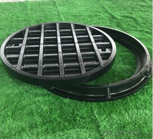 Ductile and Cast Iron Manhole Cover C250 B125 for Industry