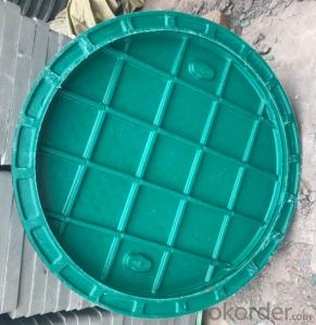 Ductile Iron Manhole Covers for Mining with Competitive Prices Made in China