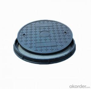 EN124 High Quality Sewage Ductile and Casting Iron Manhole Cover