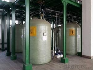 High quality FRP tanks and vessels made in China of different styles