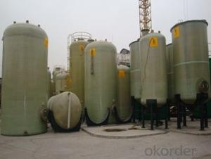 FRP tanks and vessels with no toxic and High mechanical inertness of lastest styles
